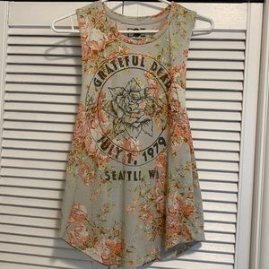 Urban Outfitters Grateful Dead Floral Tank